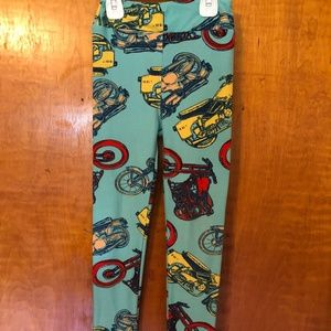 Kids Leggings Bundle - Motorcycles - Turtles